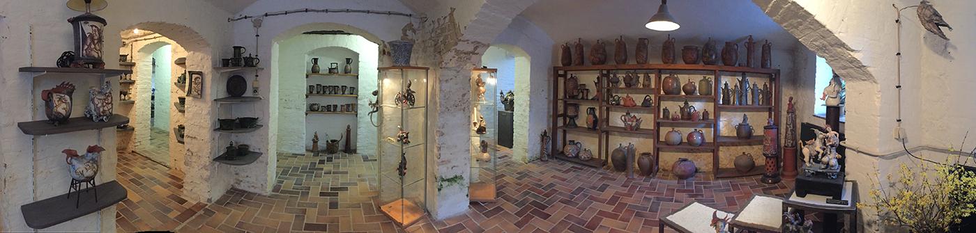 Ausstellungsraum von Friedemann Henschel